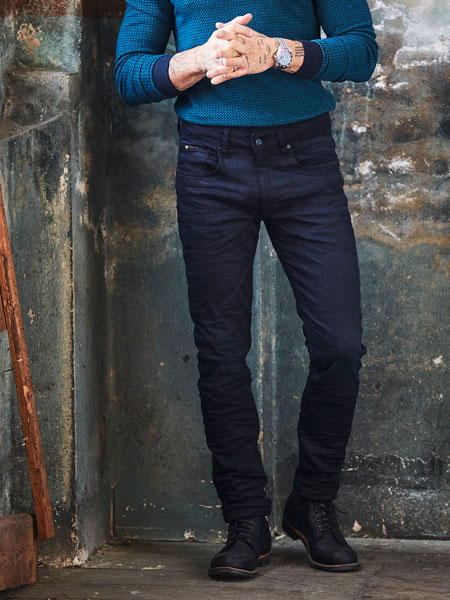Jeans blue black